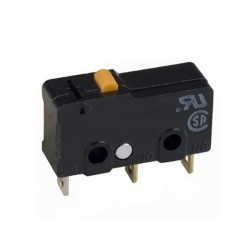 Microswitch s/ Patilha 5A SPDT 125VAC ON-(ON)