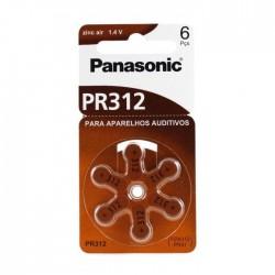 Pilha Zinco PR312 / X312 para Aparelhos Auditivos