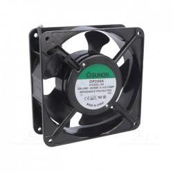 Ventoinha 120x120x38mm, 230VAC, 2 Fios, slide bearing - Sunon