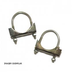 Abraçadeira Metal Simples 35mm para Mastro Exterior (BL2)