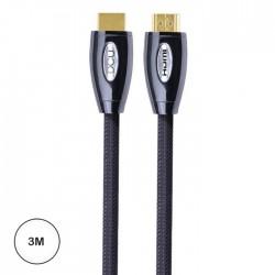 HDMI M-M 2.0 Premium Metal 3M - DCU