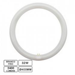 Lâmpada LED Circular G10Q 230VAC 32W 6500K Ø400mm