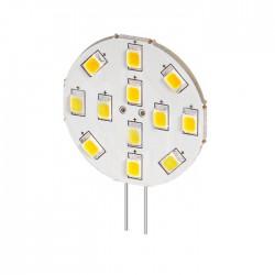 Lâmpada LED G4 12V 2.4W 170lm SMD5050 Branco Quente