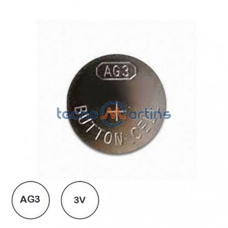 Pilha Lithium Botão Ag3 / Lr41 1.5V - Grundig