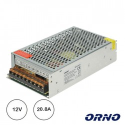 Fonte De Alimentação 12V 20.8A 250w Industrial - ORNO