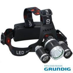 Lanterna De Cabeça 3 LEDS 200lm