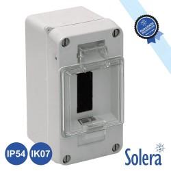 Caixa Distribuição Elétrica 3 Elementos Ip54 IK07 - SOLERA