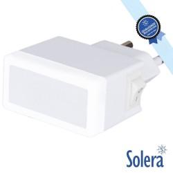 Luz De Presença LED Azul 1.5W Interruptor - SOLERA