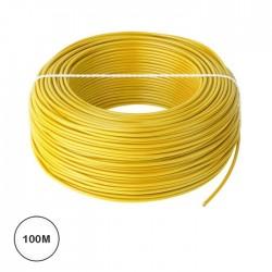 Fio Eléctrico Multifilar 1,5mm² (Bobine 100mt) - Amarelo