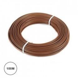 Fio Eléctrico Multifilar 1,5mm² (Bobine 100mt) - Castanho