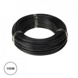 Fio Eléctrico Multifilar 1,5mm² (Bobine 100mt) - Preto