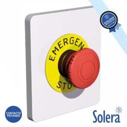 Interruptor de Emergência Parede 230v - Solera
