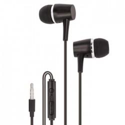 Auscultadores Stereo c/ Fios + Microfone - maXlife