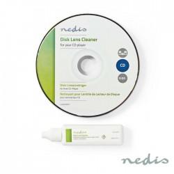Cd Limpeza Cd-Rom, Vcd, Dvd C/ Liquido - Nedis