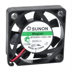 Ventoinha 30x30x6mm 5VDC 0.56W 0.112A 2 Fios Vapo - Sunon