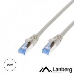 Cabo Rede S/FTP CAT6A 20mt - Cinzento