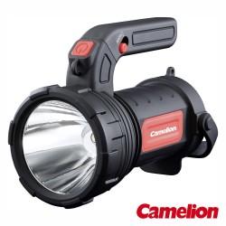 Lanterna LED 3w + LED COB 2 Cores 2em1 Punho Ajustável + Alça - Camelion