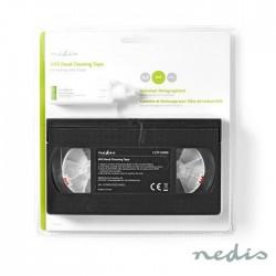 Cassete Limpeza Video VHS c/ Líquido - Nedis
