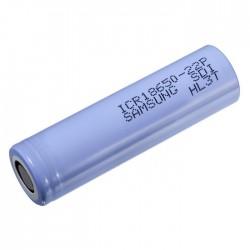 Pilha Lítio 18650 3.7V 2200mA 22P Recarregável SAMSUNG