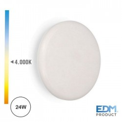 Downlight LED 220-240v 24w 1680lm 4000k Tamanho Regulavel - EDM
