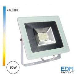 Projector Led 50w 220-240v Ip65 6400k 3500lm - EDM