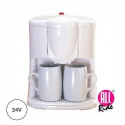 Cafeteira Elétrica 24V C/ 2 Canecas - ALL-RIDE