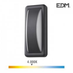 Plafon Led 6w 200lm 4000k IP65 Retângular 23x10x6.5cm - EDM