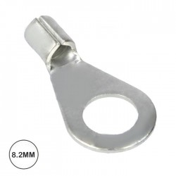 Terminal Olhal 8.2mm (4.0-6.0mm²) Não Isolado