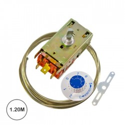 Termostato Frig. Univ. 2p 3cont Cap.1.2m VT9 K59-L1102