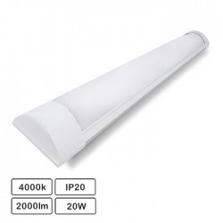 Armadura LED Batten Slim 20W 60cm IP20 4000K 1660lm