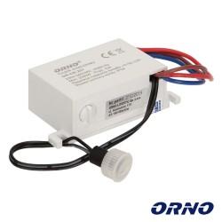 Sensor Crepuscular 230vac 2000w P/ Fita de LED - ORNO