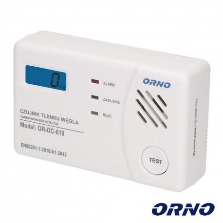 Detector Monóxido Carbono 85dB Branco - ORNO