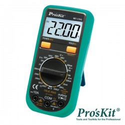 Multimetro Digital 3 1/2 Digitos True Rms - Pro'sKit
