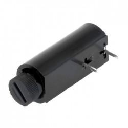 Suporte Fusivel 5x20 P/ Pcb 250v 6A Cilindrico Horizontal