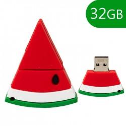 Pen USB 32GB Silicone Melância - COOL