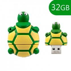 Pen USB 32GB Silicone Tartaruga - COOL