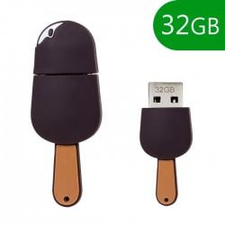 Pen USB 32GB Silicone Gelado - COOL