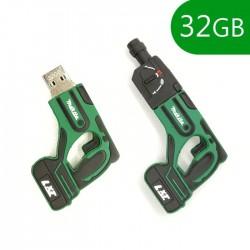 Pen USB 32GB Silicone Perfuradora - COOL