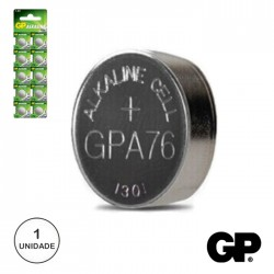 Pilha Botão Alcalina Lr44/Ag13/V13Ga/A76 1.5V Gp