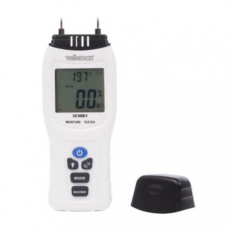 Medidor De Húmidade Digital C/ Termômetro