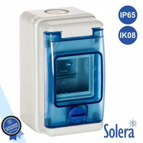Caixa Distribuição Elétrica 3 Elementos IP65 IK08 SOLERA