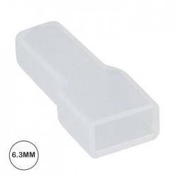 Capa P/ Terminal Fêmea 6.3mm Branco