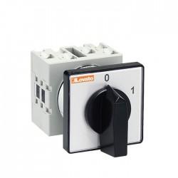Interruptor Rotativo 2 Posições + 1 Polo 16a - LOVATO