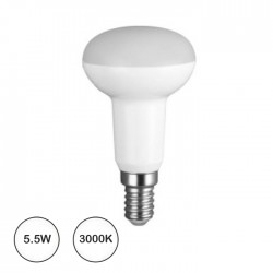 Lampada Led E14 R50 10 Leds Smd 5.5w 3000k 385..470lm