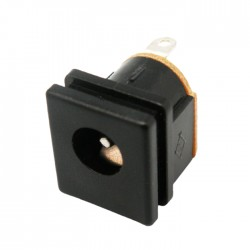 Ficha Dc Macho 5.5x2.1mm P/ Painel
