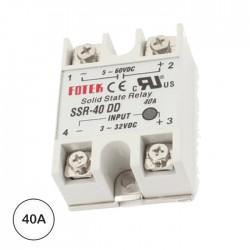 Relé 3-32VDC Interruptor Unipolar 40A/60V Sólido