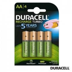Pilha Recarregavel AA 1.2v 2500ma (Pack 4) - Duracell