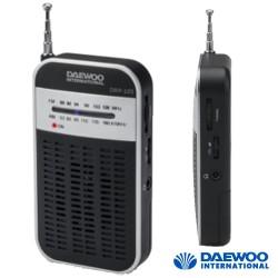 Rádio Portátil AM/FM De Bolso A Pilhas - DAEWOO