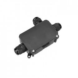 Ligador Estanque C/ Caixa 3Pinos 3Vias P/ Instalações Electricas Exterior (1.0..2.5mm) IP68