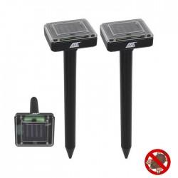 Repelente Ultrasónico a Energia Solar P/ Roeadores - MALATEC